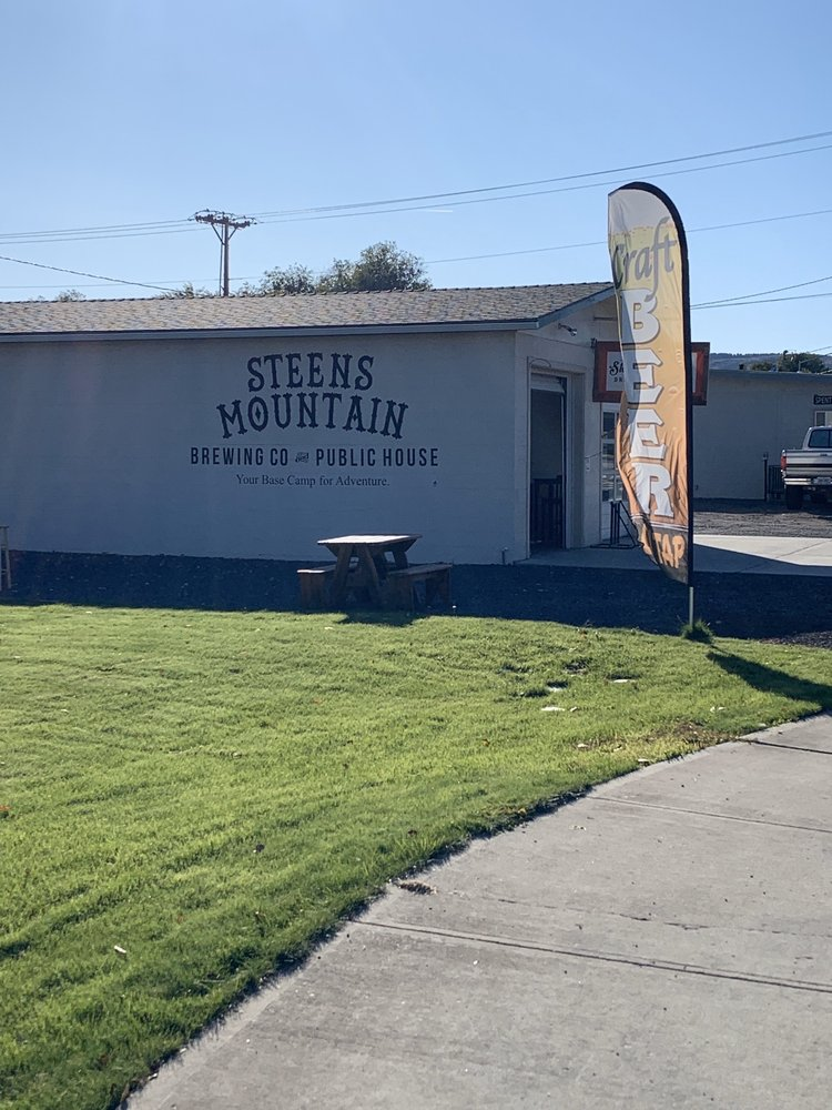 Steens Mountain Brewing: 353 W Monroe St, Burns, OR