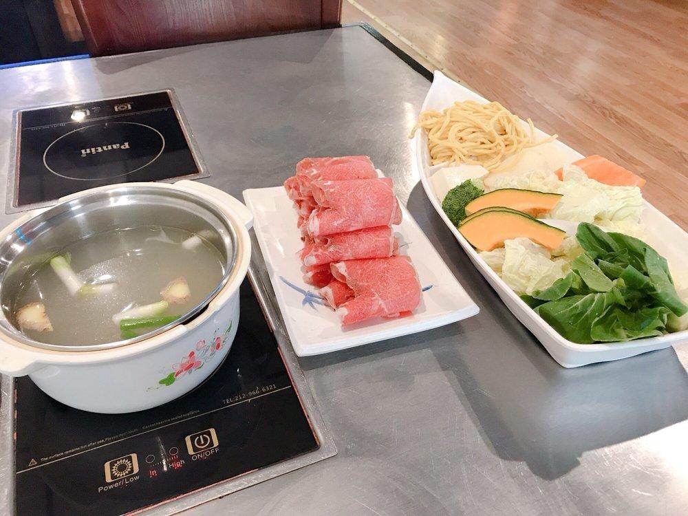 Food from Yang's Shabu Shabu