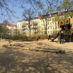 Spielplatz Helmholtzplatz Playgrounds Helmholtzplatz Prenzlauer