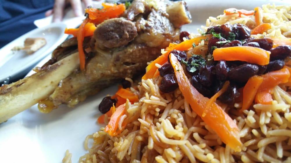 Lamb shank yelp for Aryana afghan cuisine
