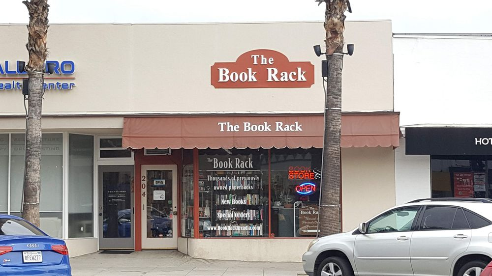 The Book Rack: 204 S First Ave, Arcadia, CA