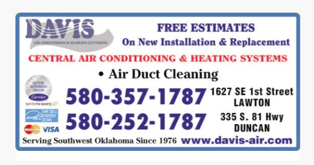 Davis Air Conditioning: 335 S Hwy 81, Duncan, OK