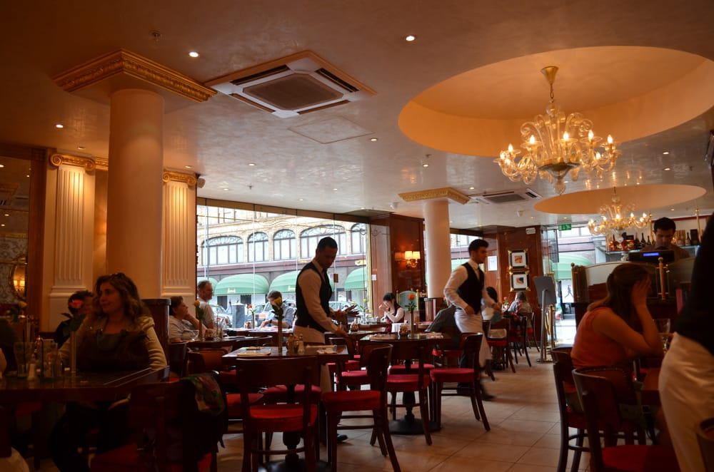 Breakfast Cafes Mayfair