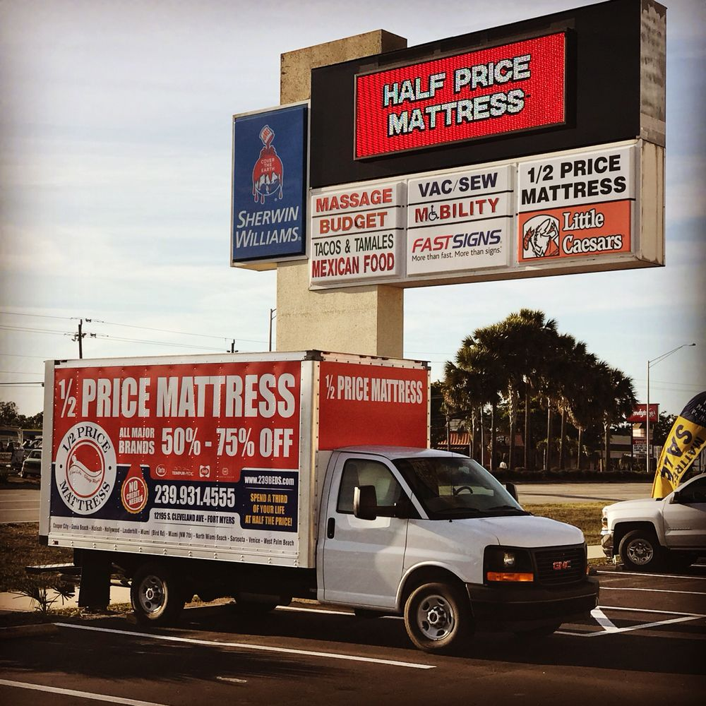 Half Price Mattress Of Fort Myers 11 Photos Mattresses 12195 S