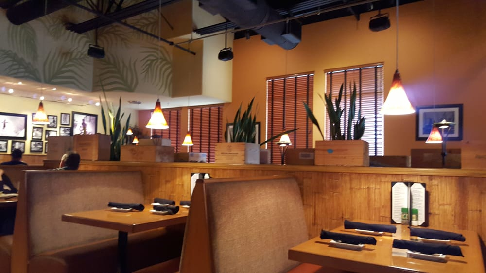 One of two main dining areas inside the restaurant there for City fish oldsmar