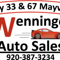 State Road Auto Sales >> Wenninger Auto Sales Used Car Dealers W2956 State Road 33 Iron