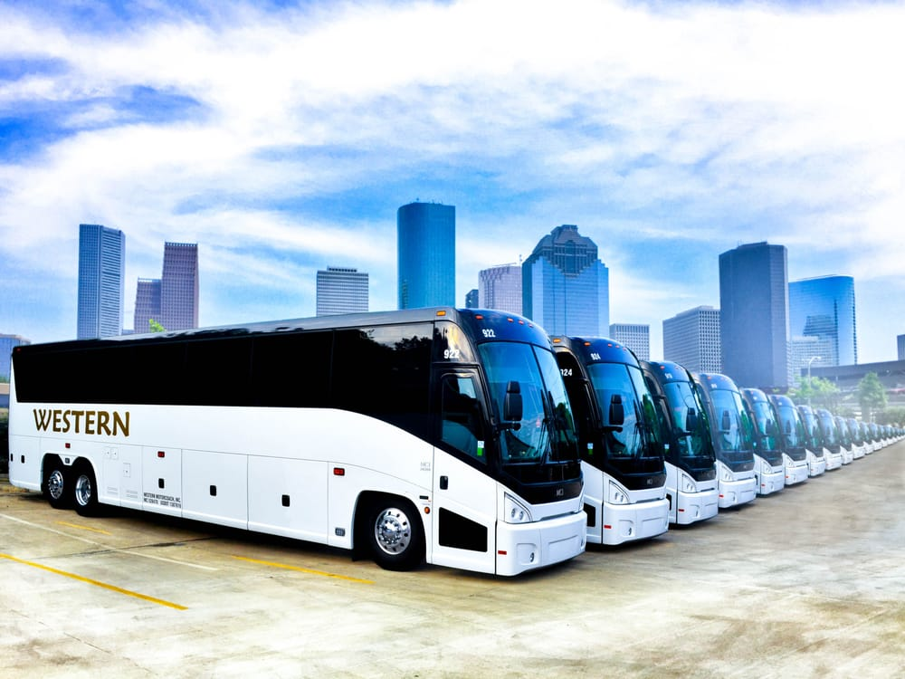 Western Motorcoach Bussar 11318 Bedford St Fondren Southwest Houston Tx Usa