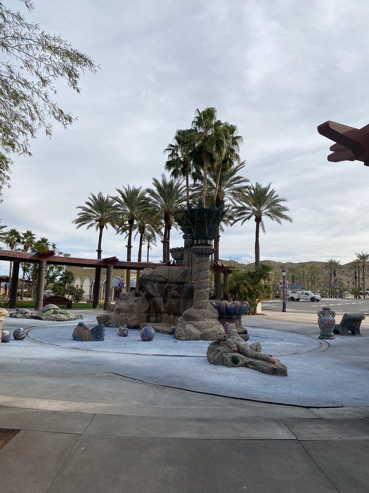 Fountain of Life: 68700 Avenida Lalo Guerrero, Cathedral City, CA