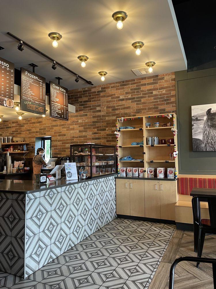 crazy llama coffee: 1206 W MacArthur Dr, Webb City, MO