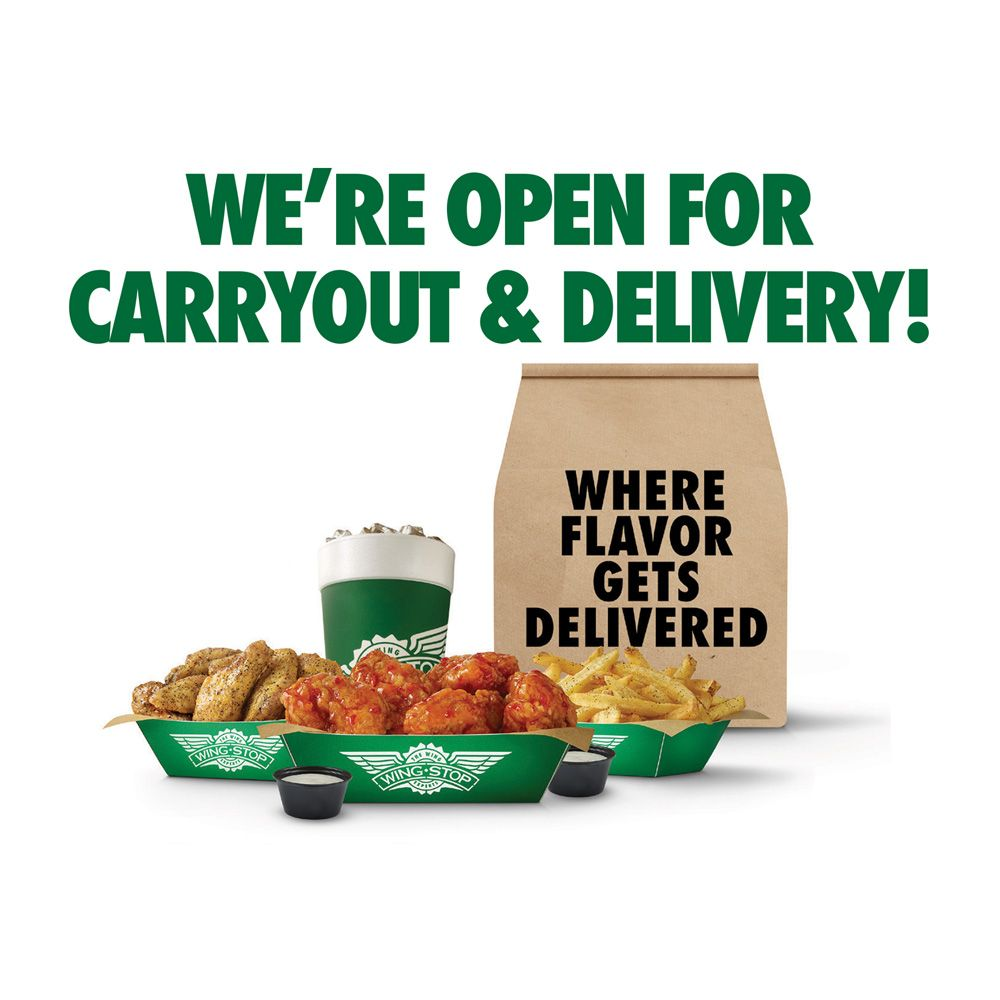 Wingstop: 1180 Shingle Creek Crossing, Brooklyn Center, MN