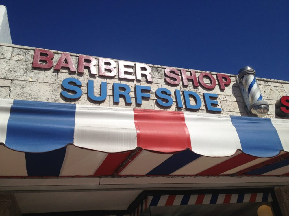 Surfside Barber Shop: 9431 Harding Ave, Surfside, FL