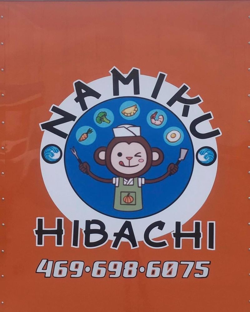 Food from Namiku Hibachi
