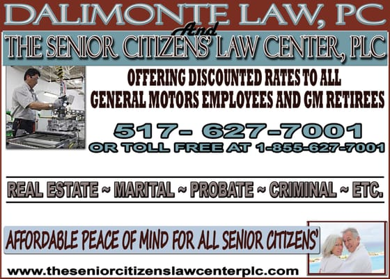 The senior citizens law center plc get quote estate for General motors retirement benefits