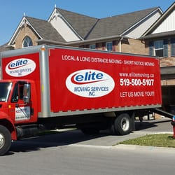 Elite Moving Services - Movers - 720 Westmount Road E, Kitchener, ON ...