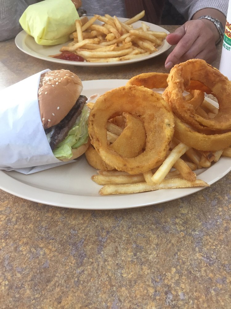 George's Burger: 256 E 40th St, San Bernardino, CA