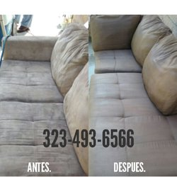 Photo Of Carpet Cleaning   Los Angeles, CA, United States. Sofa Cleaning  Before