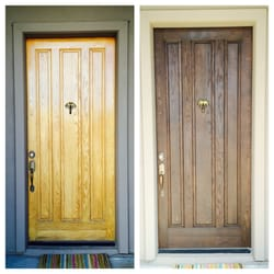 Photo of Second Chance Doors - Phoenix AZ United States. Before \u0026 After & Second Chance Doors - Refinishing Services - 1603 E Silverwood Dr ...