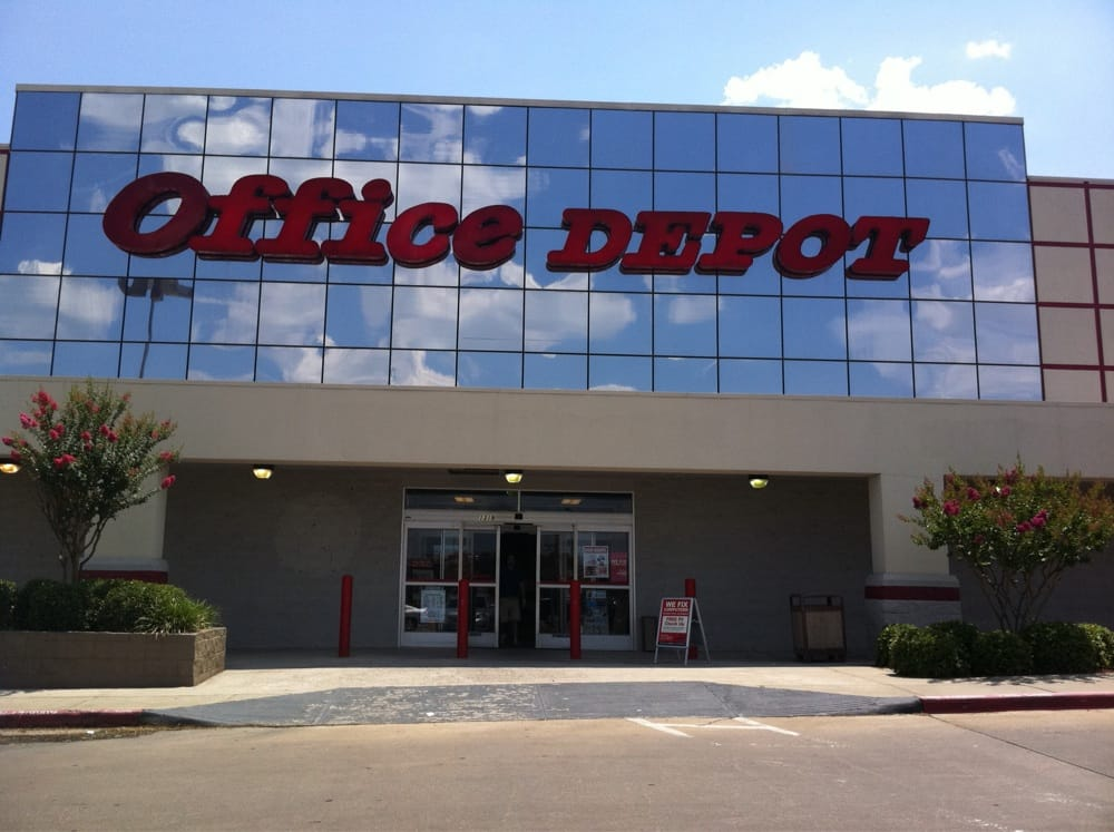 Office depot 12 reviews office equipment 1319 w davis st conroe tx united states - Office depot saint gregoire ...