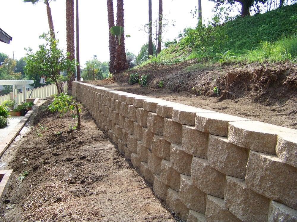 Keystone Retaining Wall Oc Block Wall Project In Yorba