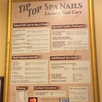 Tip top nail salon 10 photos 10 reviews nail salons for Acrylic nails salon prices