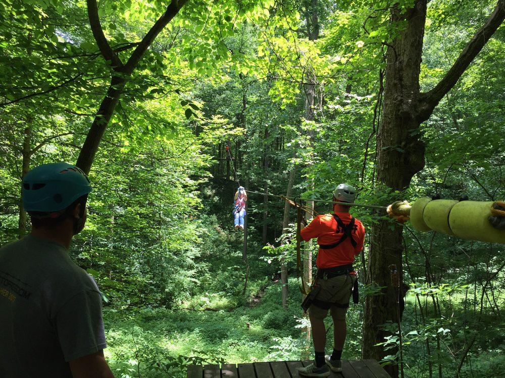 Indiana Zipline Tours: 4641 W 450 S, Crawfordsville, IN