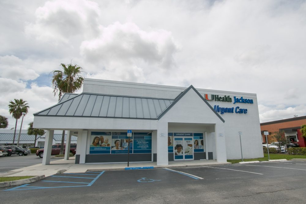 UHealth Jackson Urgent Care - Cutler Bay: 18910 South Dixie Hwy, Cutler Bay, FL