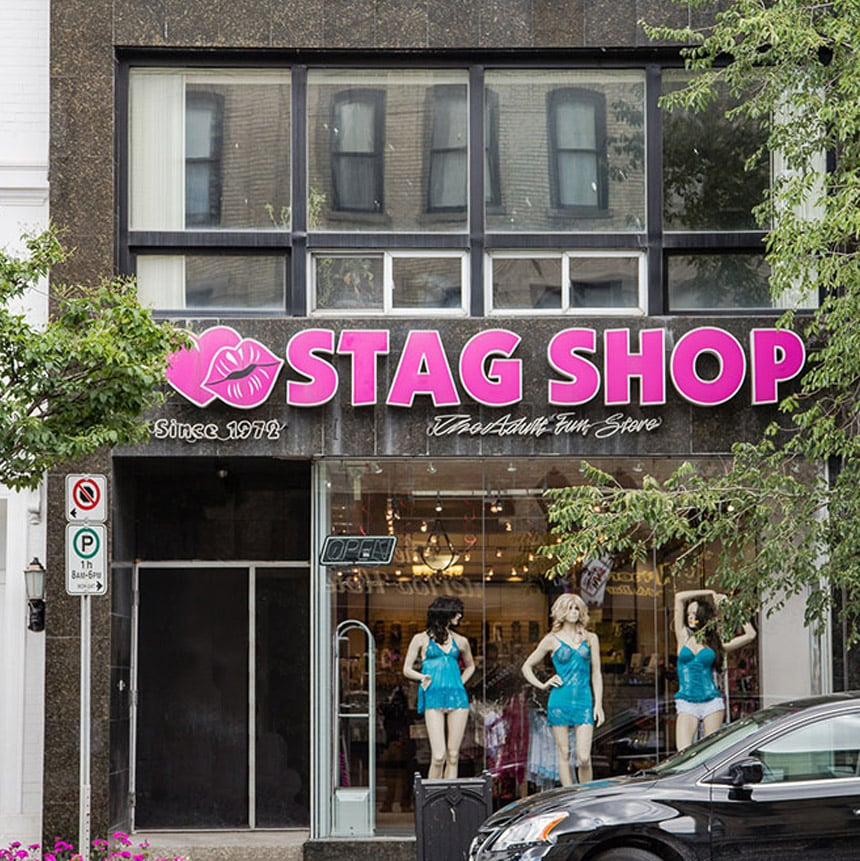 Guelph sex shop