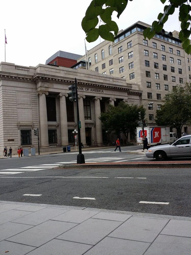 bank of america in washington dc area