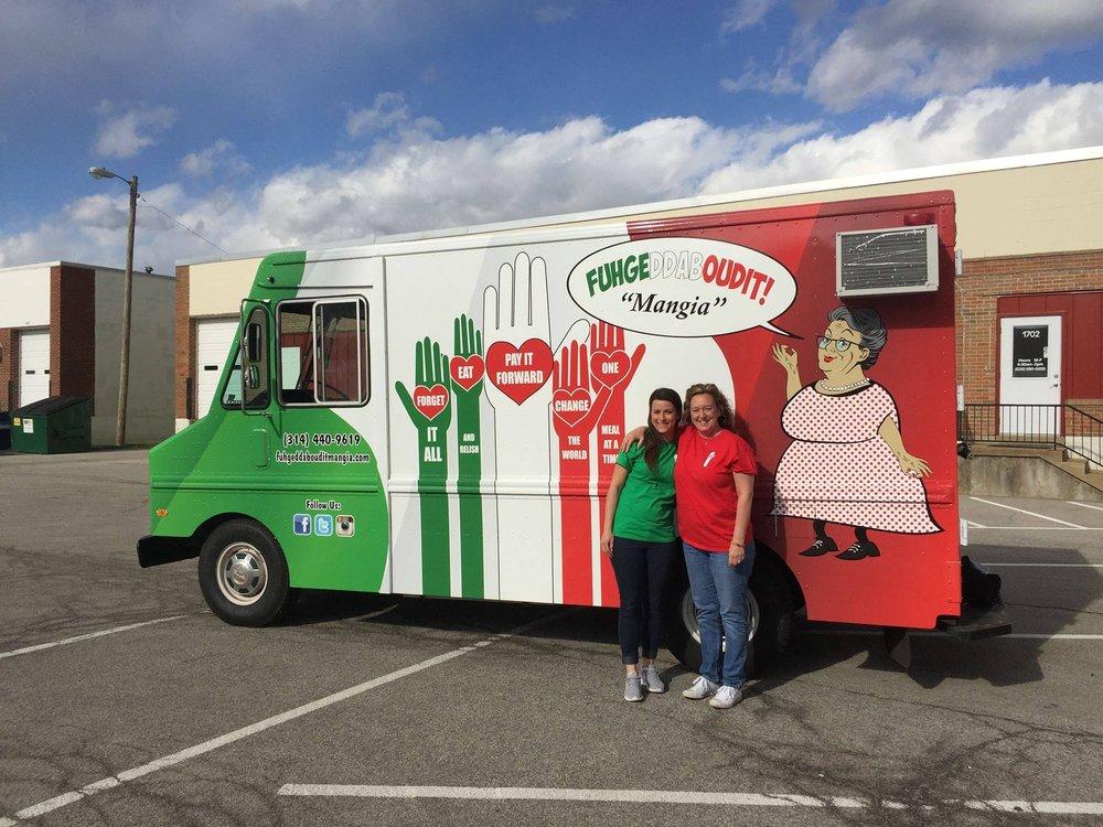 Fuhgeddaboudit Magia Food Truck: Saint Louis, MO