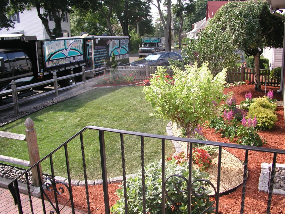 Garden Landscaping Wakefield : Photo of done right landscape wakefield ma united states