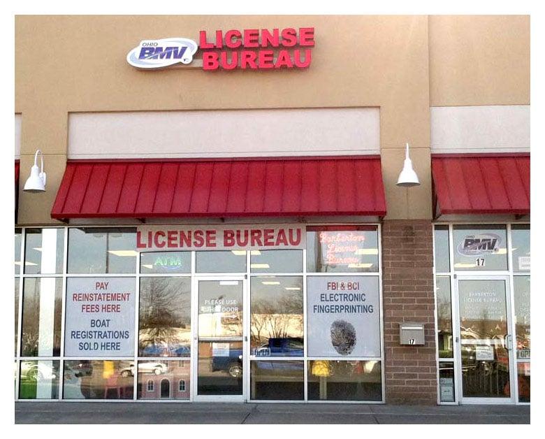Barberton license bureau bmv dvla 17 5th st se for Bureau licence