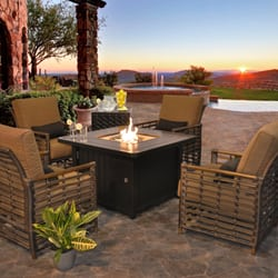 Photo Of Dot Furniture Toronto On Canada Fire Pit Tables Create