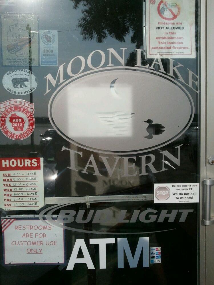 Moon Lake Tavern: 232 9 1/4 Ave, Clayton, WI