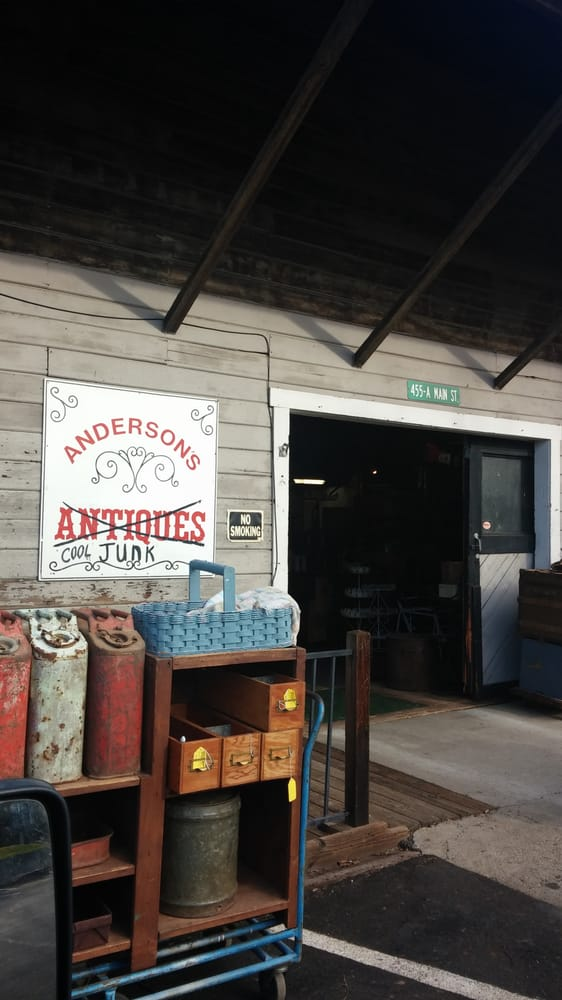 Anderson's Antiques & Cool Junk: 455 Main St, Newcastle, CA