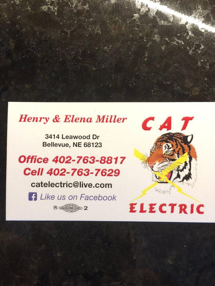 CAT ELECTRIC: 3414 Leawood Dr, Bellevue, NE
