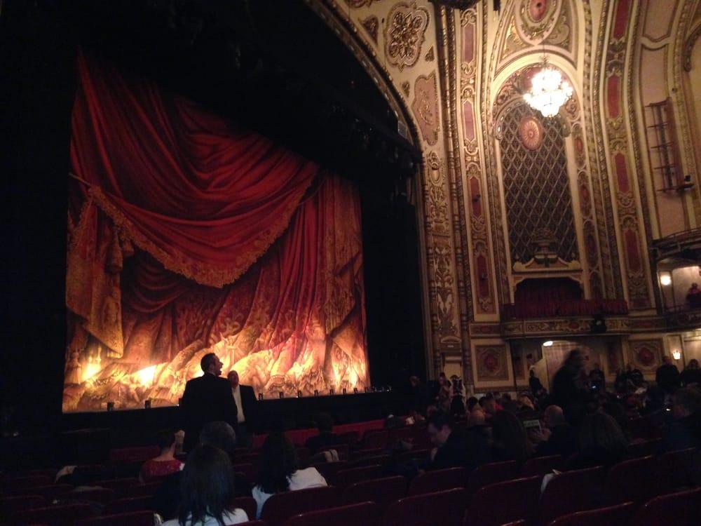 Phantom Of The Opera At Cadillac Palace (view From