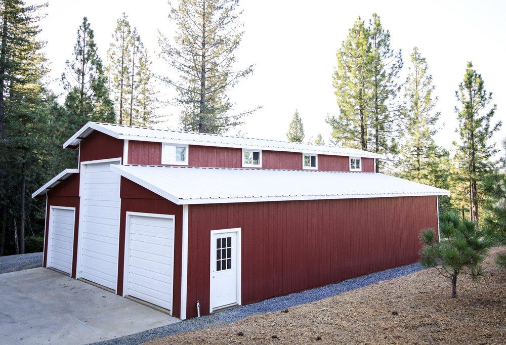 Gary's Custom Barns: 2060 Taurus Dr, Cool, CA