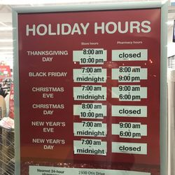 photo of walgreens san pablo ca united states holiday hours - Is Walgreens Open On Christmas Eve