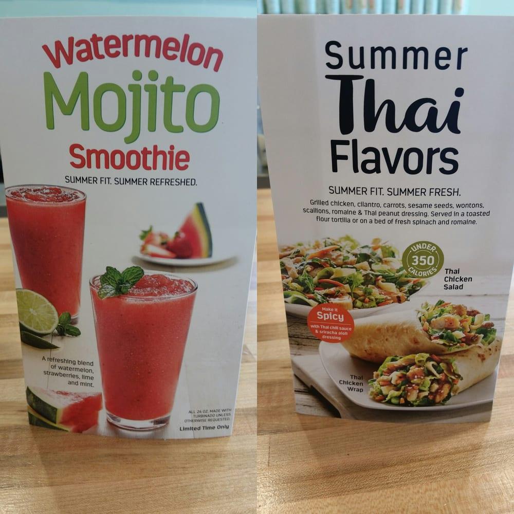 Tropical Smoothie Cafe Menu Moore Ok
