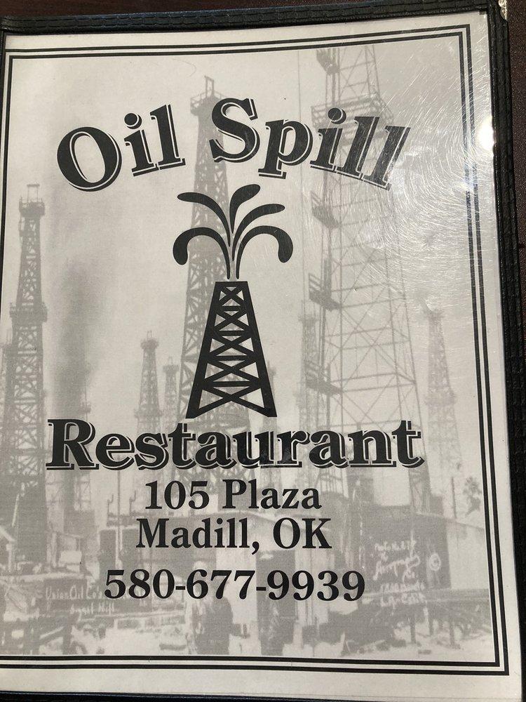 Oil Spill Restaurant: 105 Plz, Madill, OK