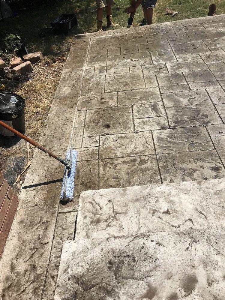 Sands Decorative Concrete: 405 S Bloomington St, Lowell, AR