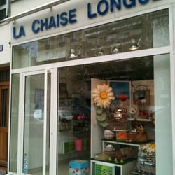 La chaise longue closed home decor 43 avenue des ternes champs elys es - La chaise longue nantes ...