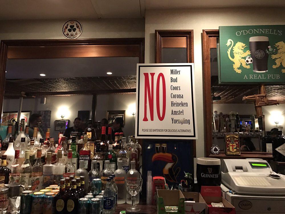 O'Donnell's Pub: 233 Harrison Ave, Harrison, NJ
