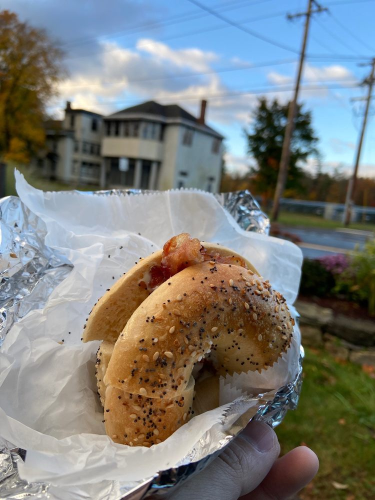 Food from Great Barrington Bagel Company
