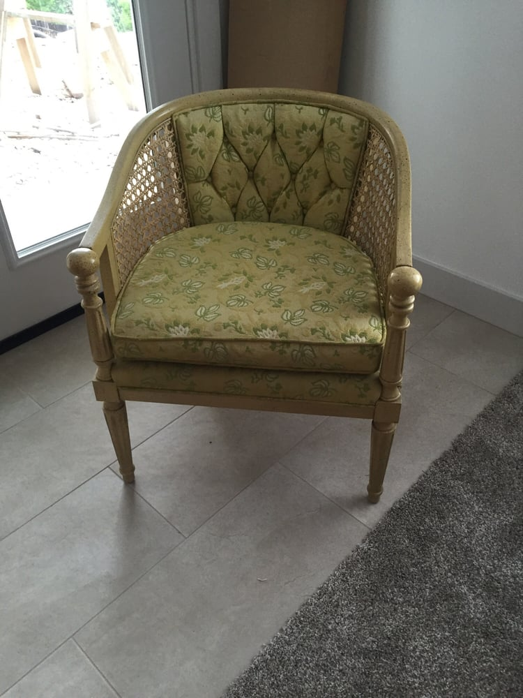 Photo Of Sofa Biz   Sandy, UT, United States. Tufted Cane Chair Need
