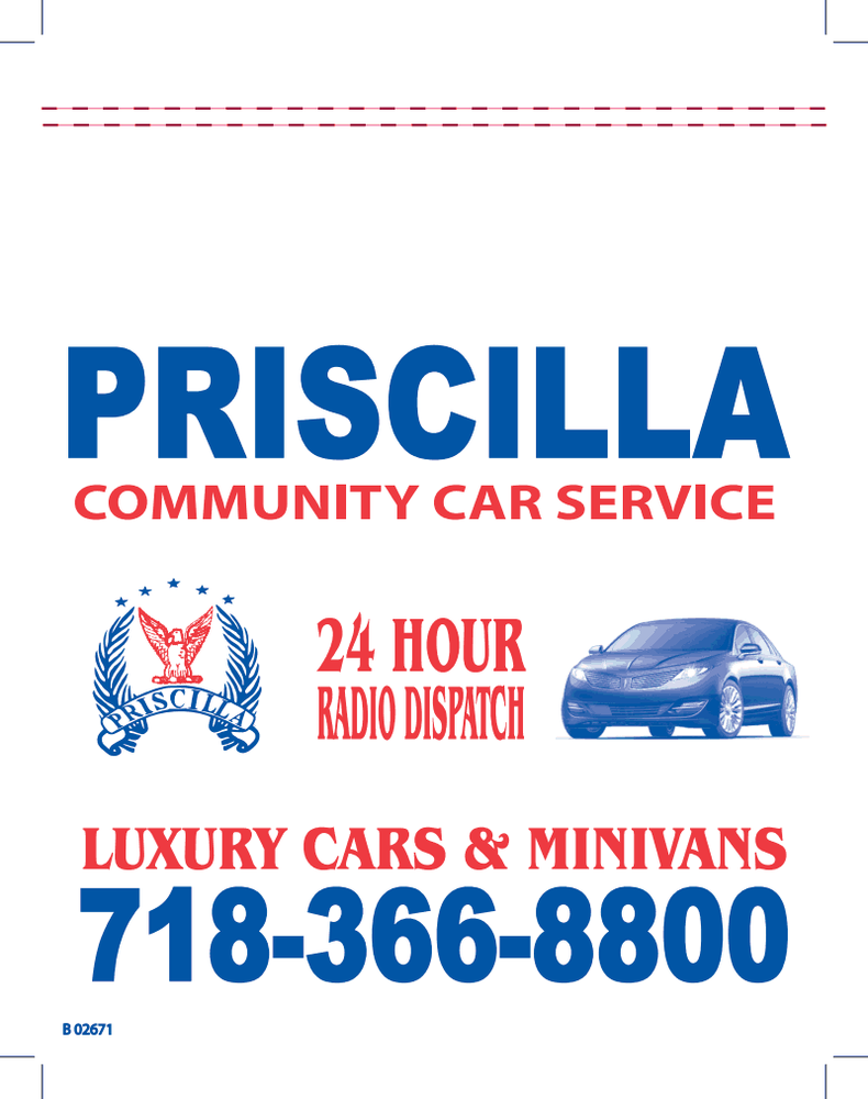 Priscilla Car Services - Taxis - 896 Wyckoff Ave, Bushwick, Queens, NY -  Phone Number - Yelp