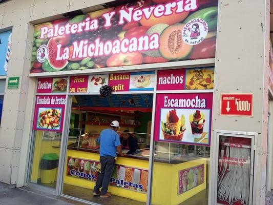 La Michoacana Ice Cream Frozen Yogurt Plaza Oasis Real De San