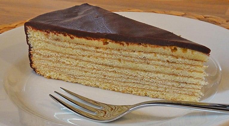 Authentic German Baumkuchen Tree Cake Chocolate Real