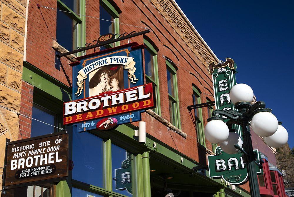 The Brothel Deadwood: 610 Main St, Deadwood, SD