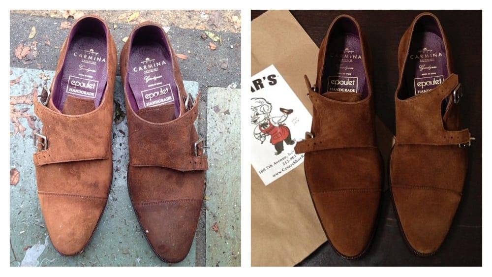 Cesar S Shoe Repair Chelsea New York Ny Yelp